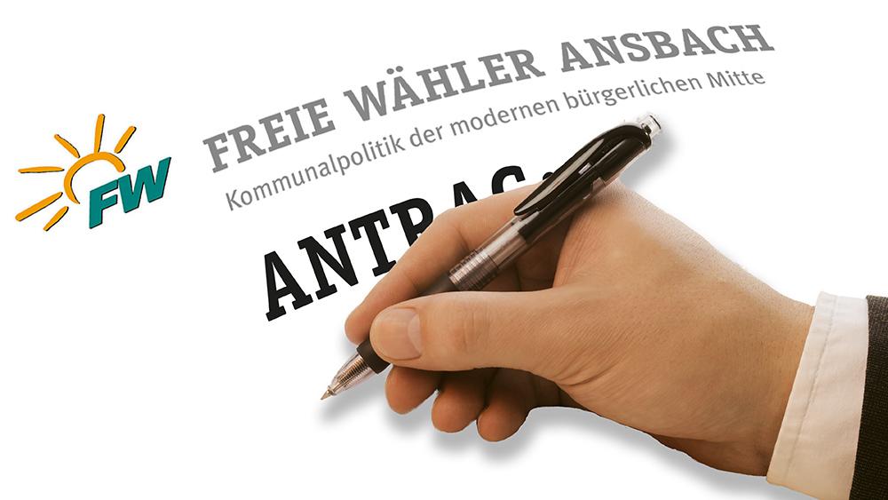 Anträge der Fraktion Freie Wähler | Die Ansbacher