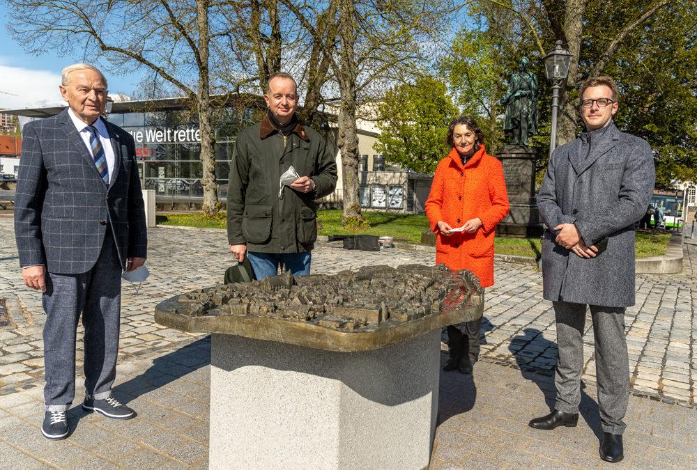 Stadtmodell zum 800-Jahre-Jubiläum eingeweiht
